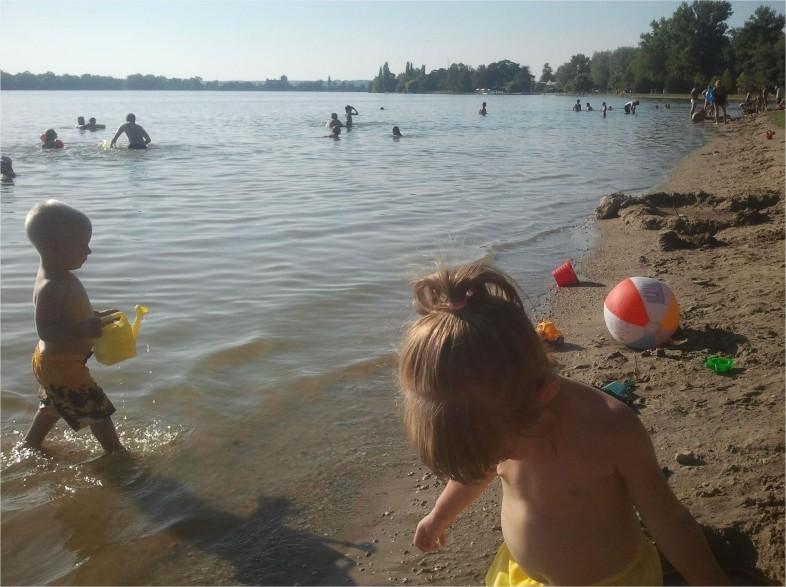 Szabad strand,tata,programok, Öreg-tó,