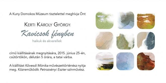 Kerti Károly György kiállítása