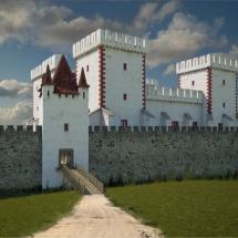 A Tatai Vár egyik kapuja